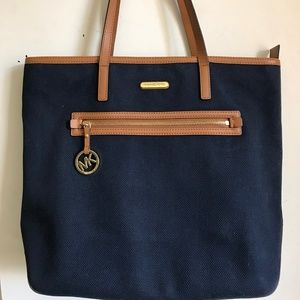 MICHAEL Michael Kors Blue Shoulder Bag